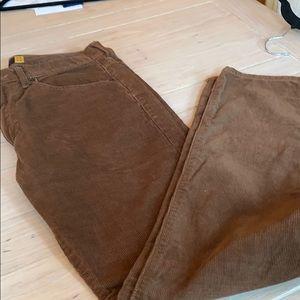 Jcrew brown corduroy size 30/30